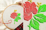 Embroidery Photoshop Action - buzzaart