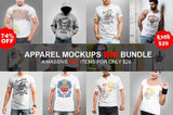 Apparel Mockups Big Bundle - buzzaart