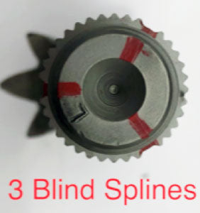 Saginaw GMT 3 blind splines