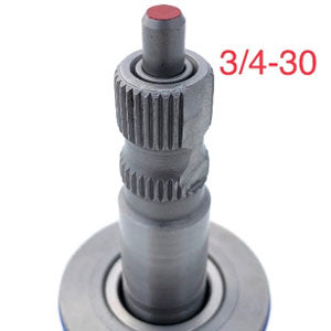 Saginaw GMT 3/4-30 input shaft