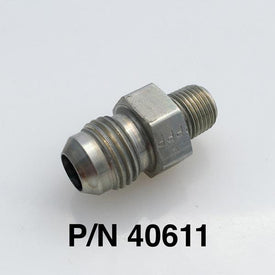 "1/8"" NPT Pipe Fitting to -6 Straight Power Steering Fitting"