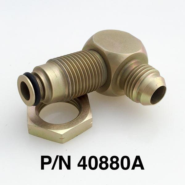 16mm O-Ring To -6 90 Degree Fitting With O-Ring & Nut