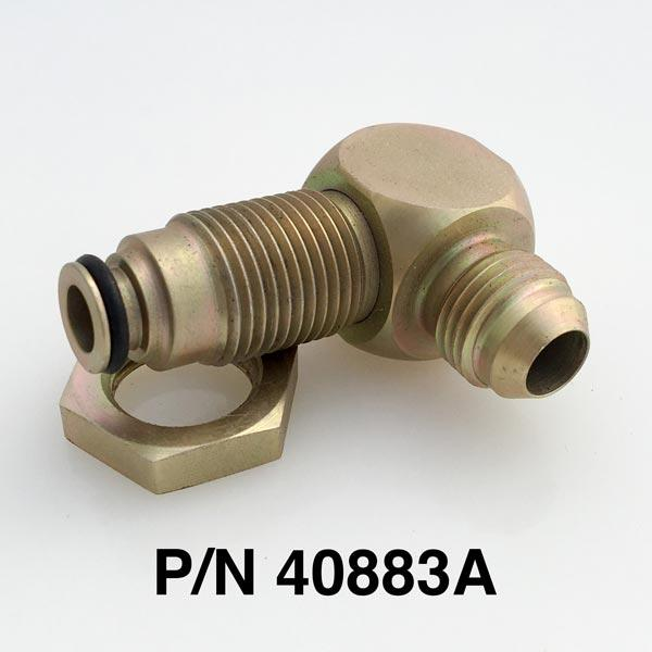 5/8 O-Ring To -6 90 Degree Fitting With O-Ring & Nut