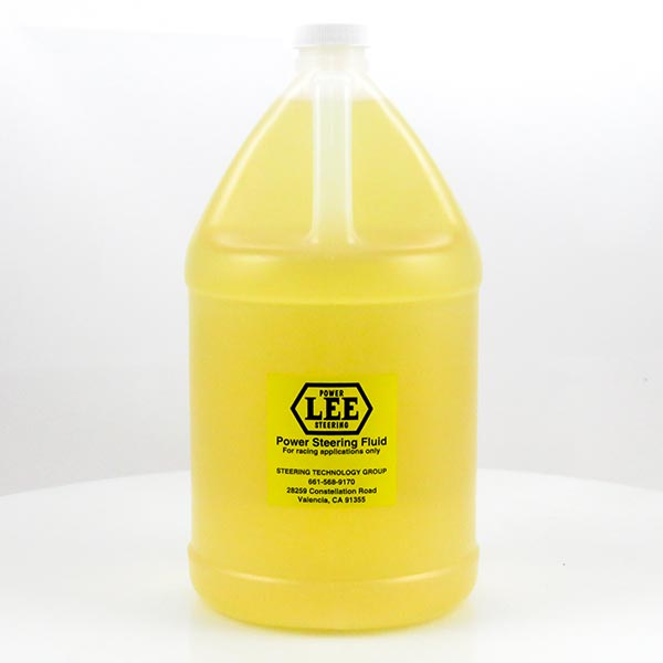 Gallon of Lee Power Steering Fluid