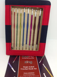 KnitPro Zing Single Ended Crochet Hooks