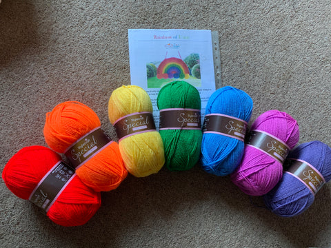 Crochet Rainbow Pack