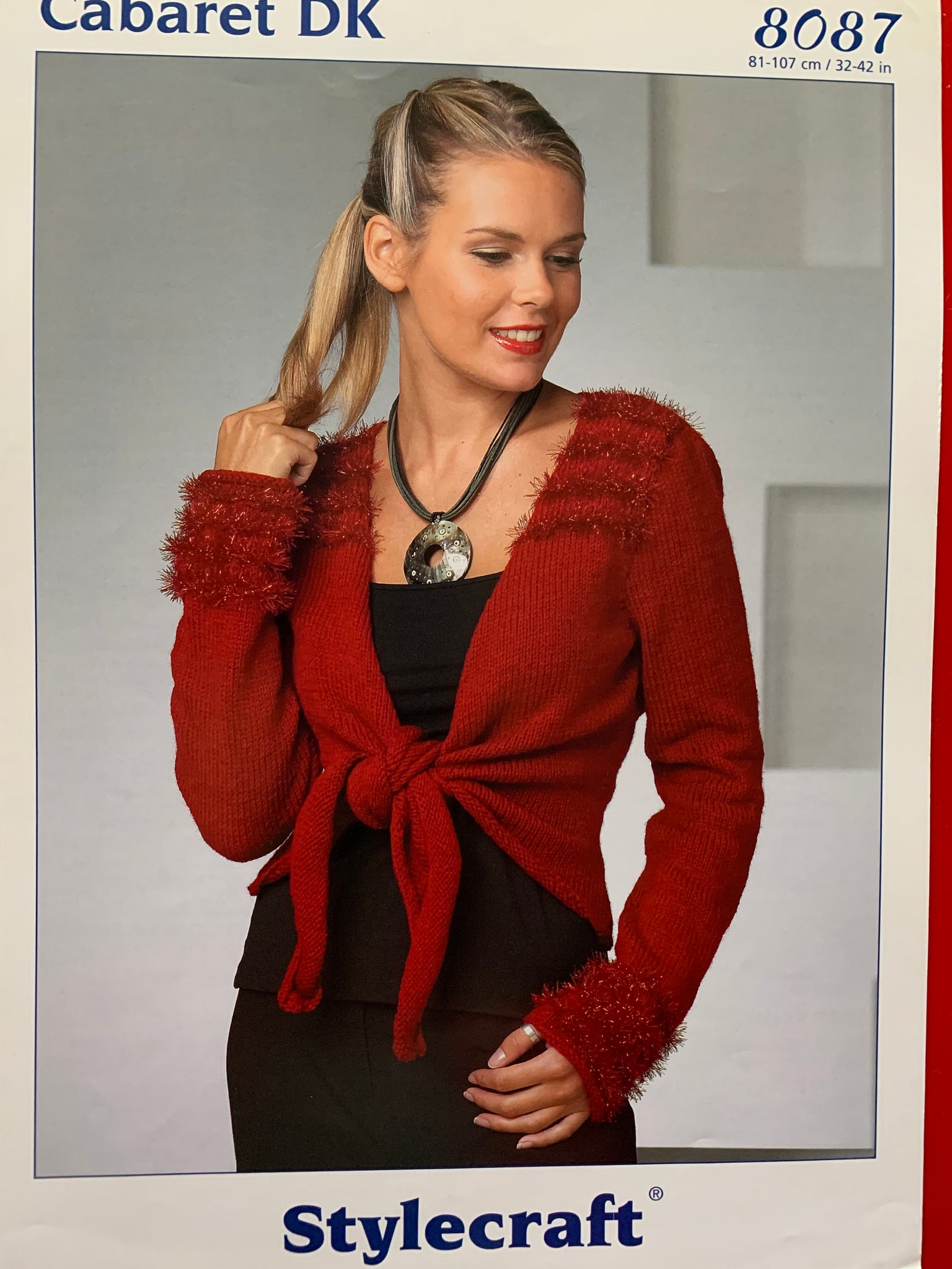 8087 Stylecraft Cabaret Dk ladies cardigan knitting pattern