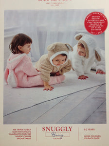 3506 Sirdar Snuggly Bunny Chunky Pattern for Baby All in One
