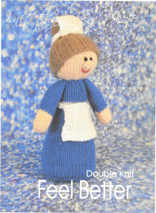 338 KBP338 Feeling Better toy in dk knitting pattern