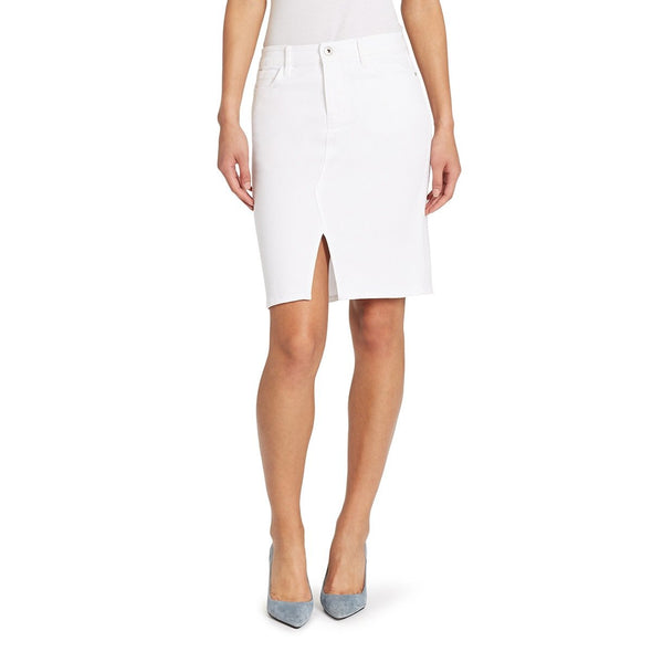 Skinnygirl brand white pencil skirt