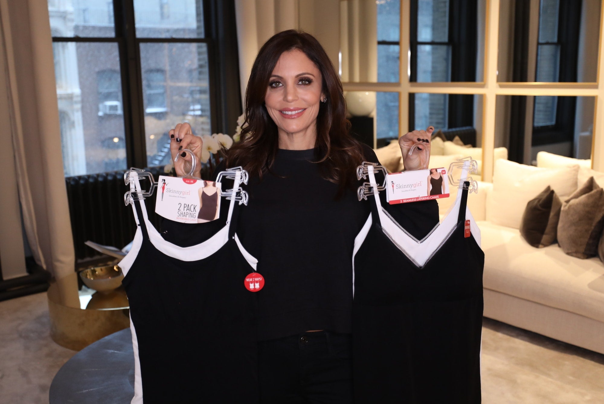 Bethenny Holding Shapewear