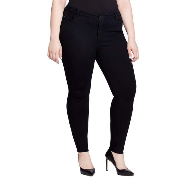 Shop Skinnygirl Dante Black Jeans Plus