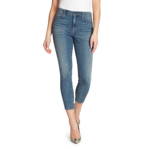 High-Rise Skinny Ankle Jeans - Nevada
