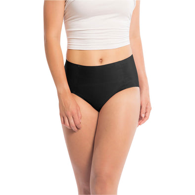 Microfiber High Waisted Brief with Bonded Edge - 3 Pack