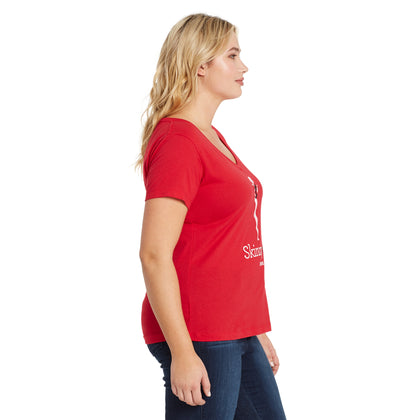 Skinnygirl Logo T-Shirt - Red (Plus)