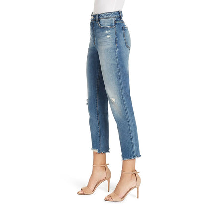 High-rise Straight Crop Jeans - Westerlo (FINAL SALE)