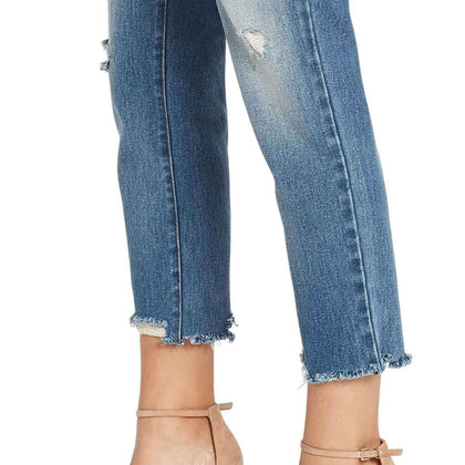 High-rise Straight Crop Jeans - Westerlo