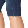 Mid-Rise Skinny Skimmer Shorts with Frayed Hem - Regent