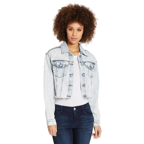 Denim Crop Jacket - Ashton