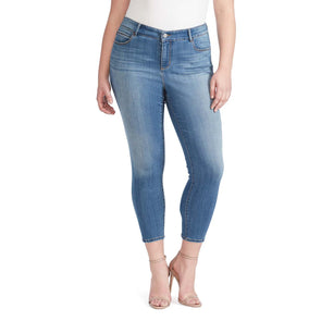 Mid-Rise Skinny Crop Jeans - Sydney (Plus) (FINAL SALE)