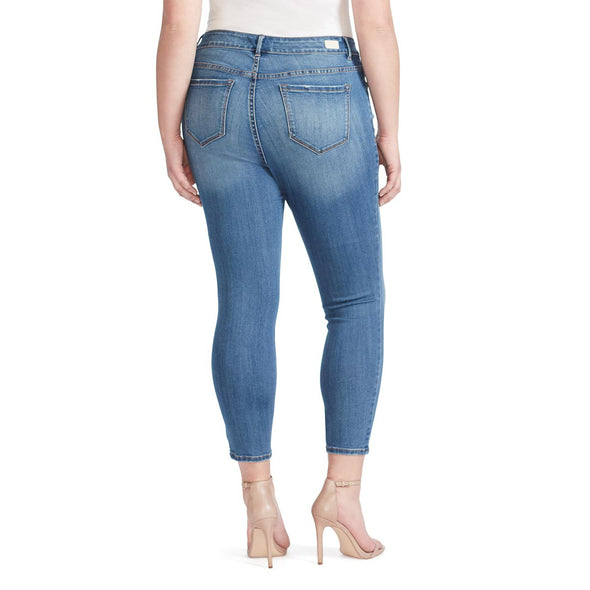 Mid-Rise Skinny Crop Jeans - Sydney (Plus)