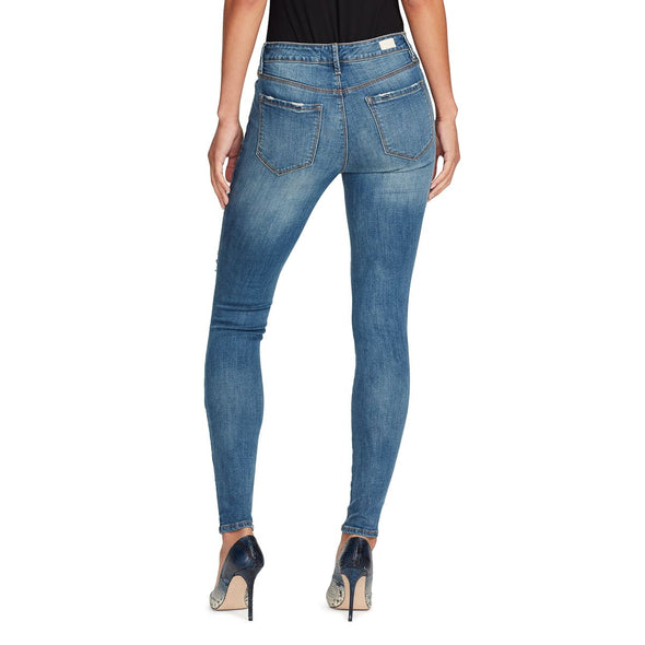 Mid-rise Skinny Jeans Distressed - Westerlo - back view
