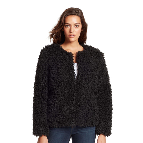 Bridgehampton Sherpa Jacket - Black