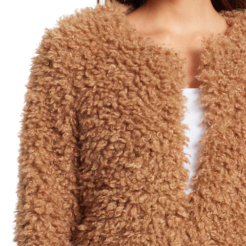 Bridgehampton Sherpa Jacket - Camel