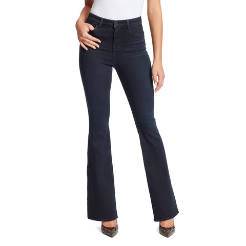 Julia High-Rise Flare Jeans - Nighthawk