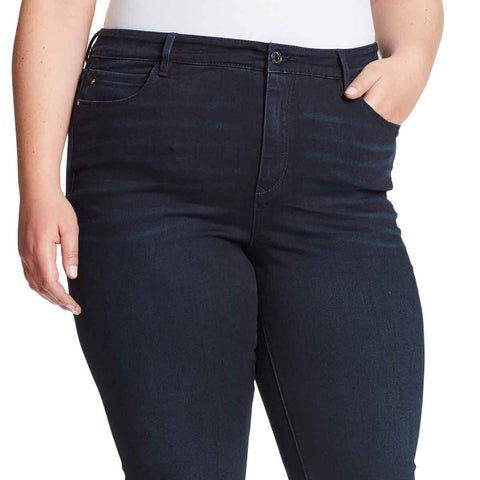 Julia High-Rise Flare Jeans - Nighthawk (Plus)