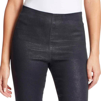 Bailey Mid-Rise Seamless Pull On Pants - Glitter Rinse