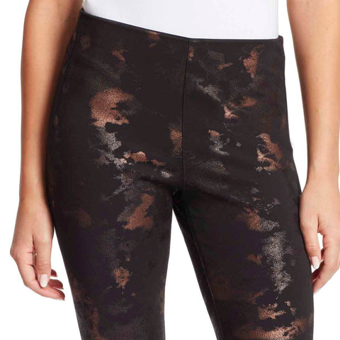 Bailey High-Rise Seamless Pull On Pants - Bronze Marble