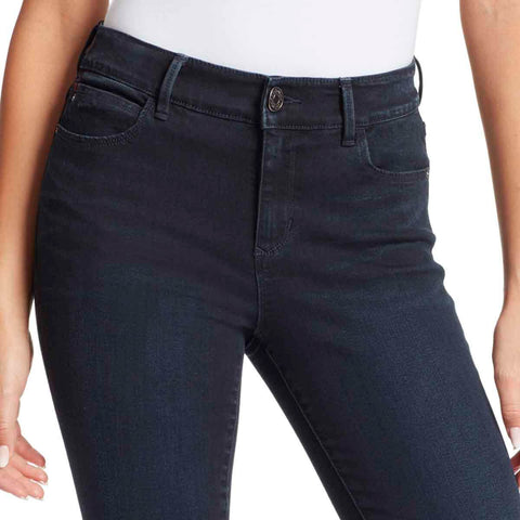 Sarah Mid-Rise Skinny Ankle Jeans - Nighthawk
