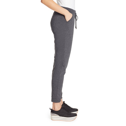 Sierra Jogger With Zipper - Charcoal Grey