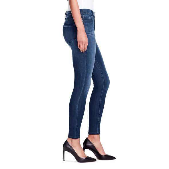 High-rise Skinny Ankle Jeans - Hudson side view