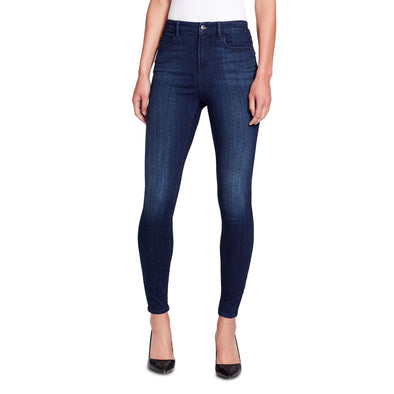 High-rise Skinny Ankle Jeans with Studs - Lexington - front view
