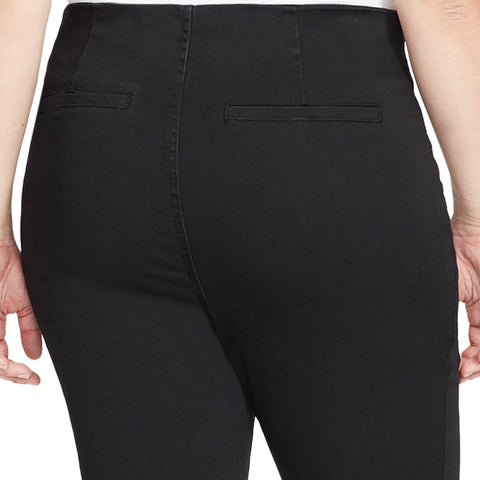 High-Rise Flare Jeans - Black Rinse (Plus)