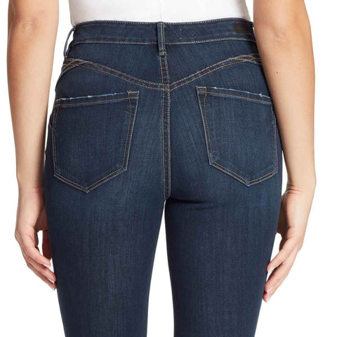 High-Rise Curvy Skinny Jeans - Bryant