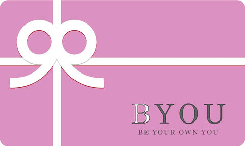 Be Your Own you gift card