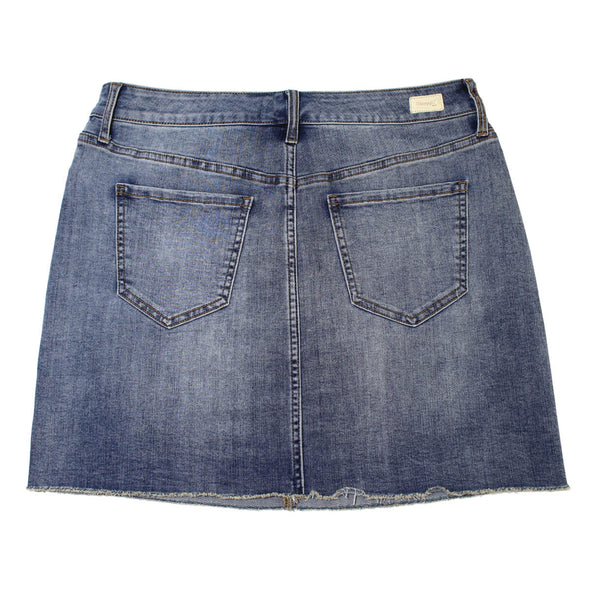 Straight Mini Skirt - Rosing