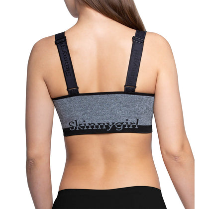 Seamless Lounge Bra With Skinnygirl Logo - 2 Pack