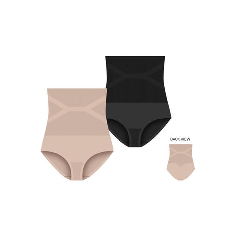 Extra Tummy Control High Waisted Shaping Panty - 2 Pack