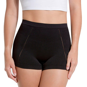 High Waist Drop Kneedle Stitching Boyshort Panty - 3 Pack