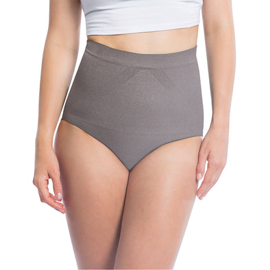 Seamless Shapewear Brief Panty With Diamond Shaping Panel - 3 Pack