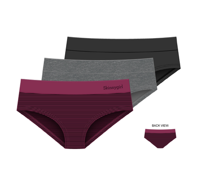 Seamless Hipster Panty - 3 Pack