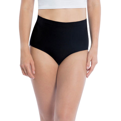 High Waist Seamless Shapewear Brief Panty - 3 Pack