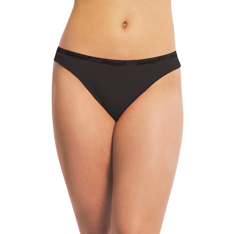 Cotton Bikini Panty With Skinnygirl Waistband - 5 Pack