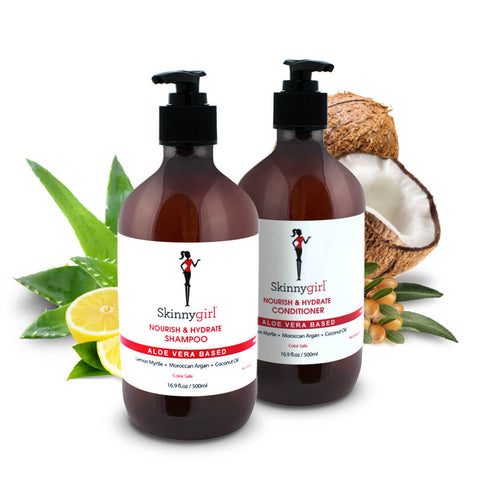Bundle: Skinnygirl Nourish & Hydrate Shampoo + Conditioner (Lemon Myrtle)