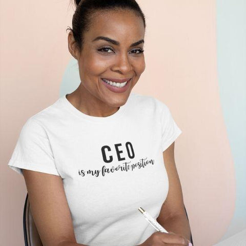 CEO Is My Favorite Position Short-Sleeve Unisex T-Shirt