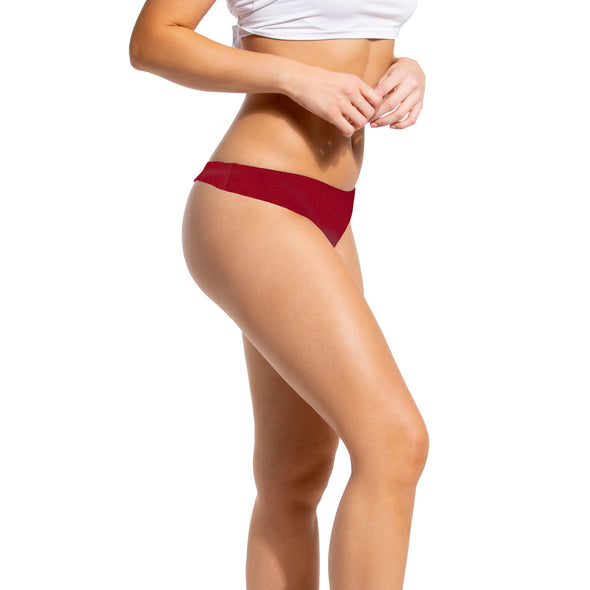 Laser Cut Thong Panties - 3 Pack